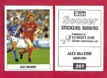 Aberdeen Alex McLeish Scotland 297